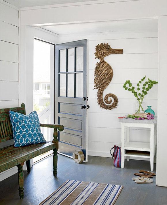 Beach Home Decor Ideas: Hodnik