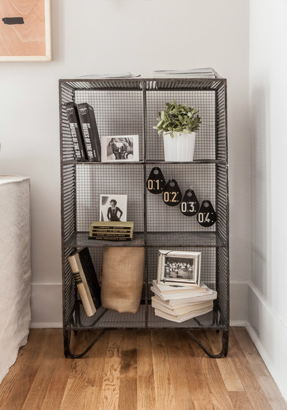 408E73-designer-furnished-rental-industrial-metal-shelving